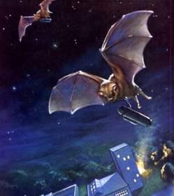 Cartoon of bat bomber