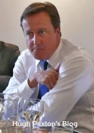Rt. Hon. David Cameron UK Prime Minister, listening to the public