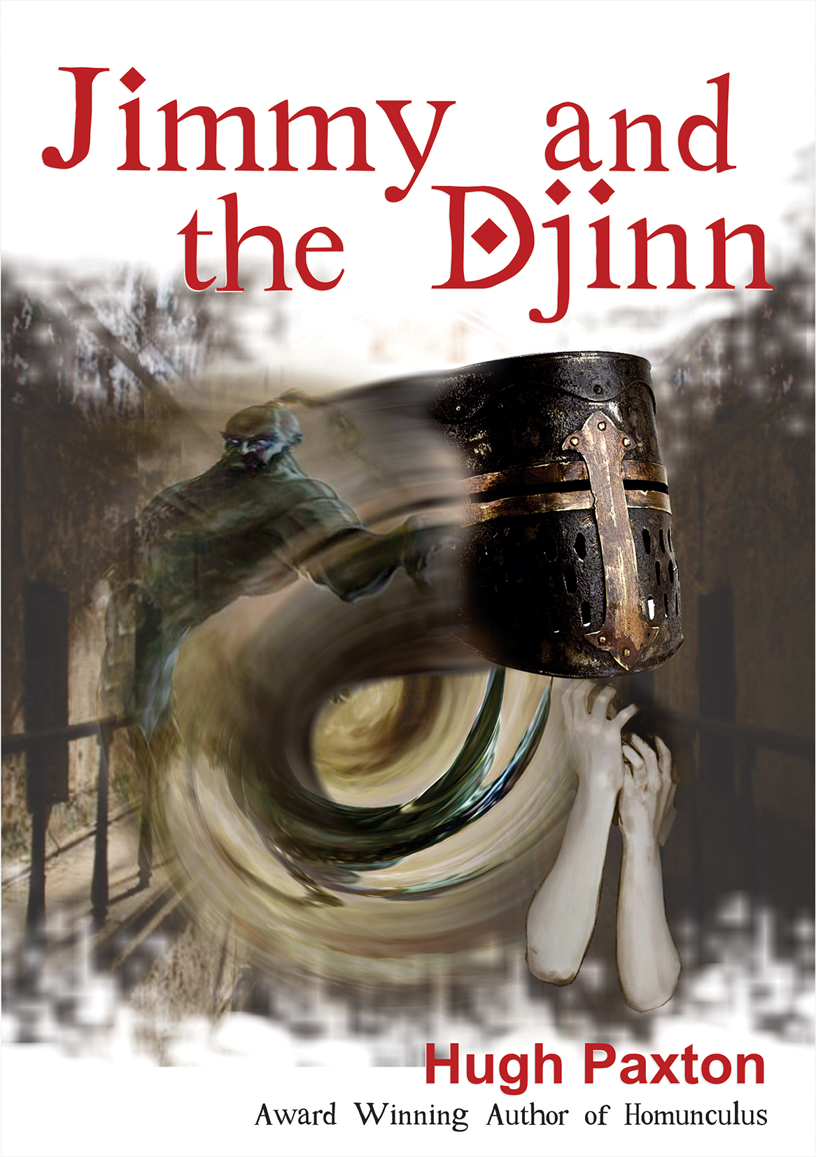 Jimmy & The Djinn cover illustration by Suzi Seha