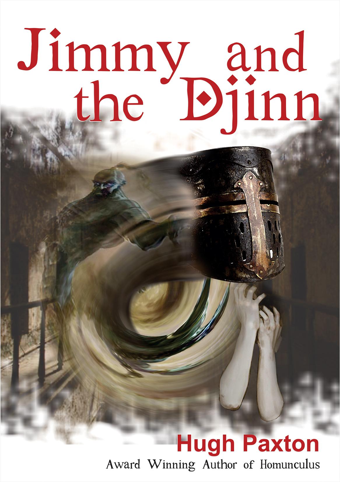Jimmy & The Djinn cover illustration by Suzi Seha